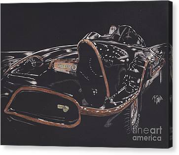 Batmobile 2 Canvas Print