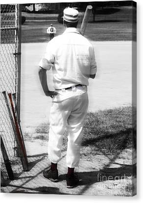 Batter On Deck  Canvas Print