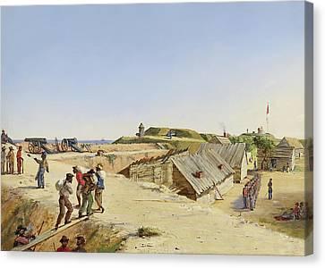 Battery Marshall - Sullivan's Island 1863 Canvas Print