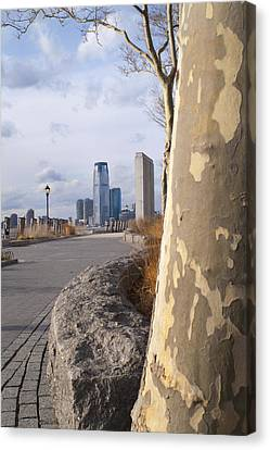 Battery Park Canvas Print by Henri Irizarri