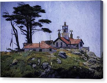 Battery Point Lighthouse Crescent City California Canvas Print