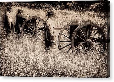 Battle Ready - Gettysburg Canvas Print by Bill Cannon