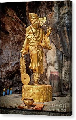 Batu Cave Statue Canvas Print by Adrian Evans