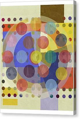 Bauhaus London Three Canvas Print by Big Fat Arts