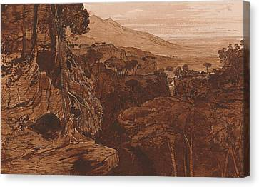 Bavella, Corsica Canvas Print