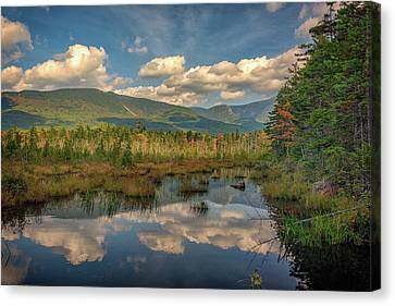 Maine Mountains Canvas Print - Baxter Reflections by Rick Berk