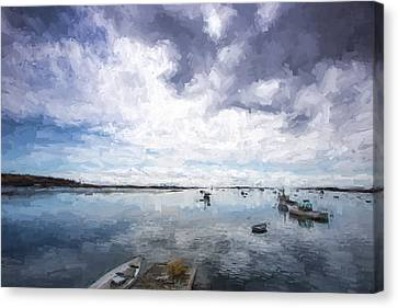 Bay Area Boats IIi Canvas Print by Jon Glaser