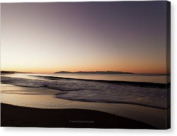 Bay At Sunrise Canvas Print by Lora Lee Chapman