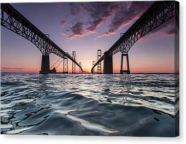 Bay Bridge Twilight Canvas Print