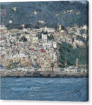 Bay Of Tangier Canvas Print