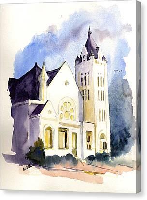 Bay Street Presbyterian Church Canvas Print