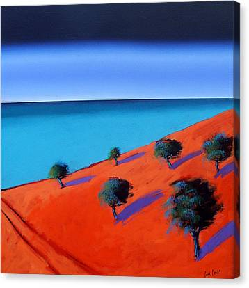 Bay Two Canvas Print by Paul Powis