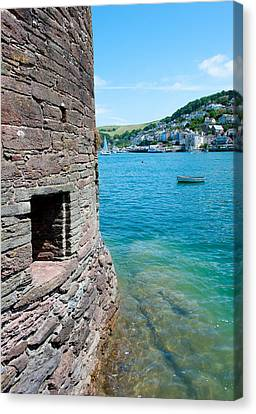 Bayards Cove Fort Canvas Print by Helen Northcott