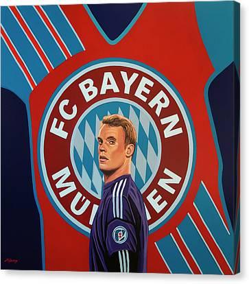Munich Canvas Print - Bayern Munchen Painting by Paul Meijering