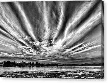 Bayfarm Island Sunrise Canvas Print