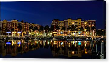 Bayfront Canvas Print by Sean Allen