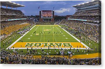 Qb Canvas Print - Baylor Gameday #6 by Stephen Stookey