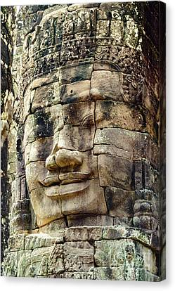 Bayon 2 Canvas Print by Werner Padarin