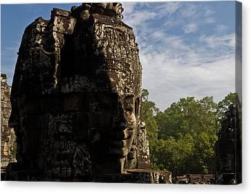 Bayon Temple, Siem Reap Canvas Print
