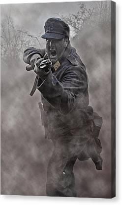 Bayonet Warrior Canvas Print by Mark H Roberts