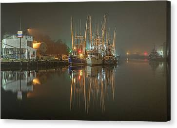 Bayou Fog #1 Canvas Print