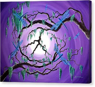 Bayou Peace Tree Canvas Print