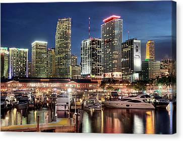Bayside Canvas Print by Gustavo's photos