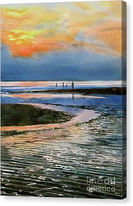 Bayside Illusion Canvas Print