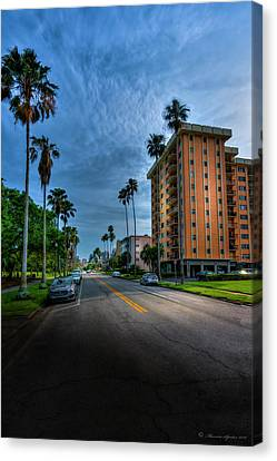 Bayside Canvas Print by Marvin Spates