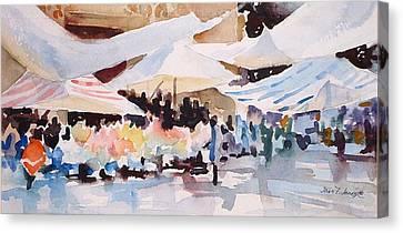 Bazaar Sabado Canvas Print