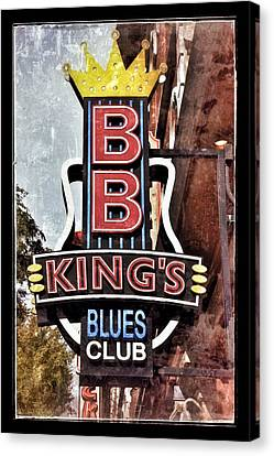 Bb King Blues Club - Nashville Tn Canvas Print