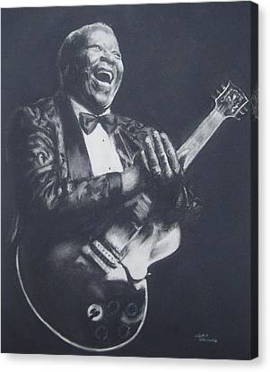 Bb King Canvas Print by Cynthia Campbell