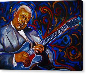 b.b KING Canvas Print