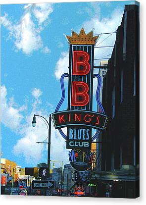 Bb Kings Canvas Print