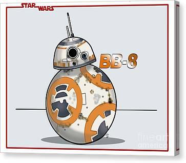 bb8 Canvas Print by Chris DelVecchio