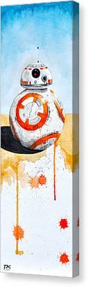 BB8 Canvas Print by David Kraig