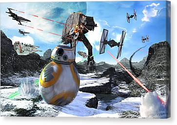Bb8 Escape Canvas Print