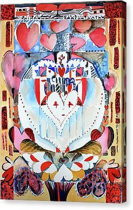 Be Mine Valentine Canvas Print