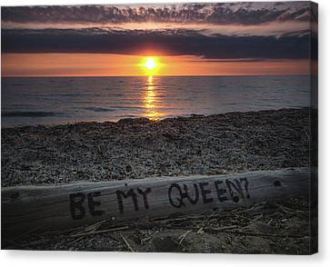 Be My Queen Canvas Print by Cale Best