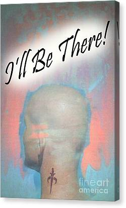 Be There Canvas Print by Sean-Michael Gettys