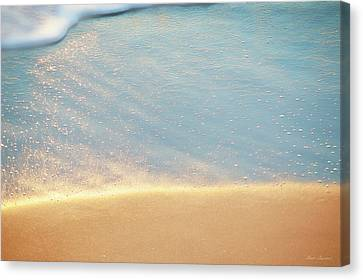 Beach Caress Canvas Print by Glenn Gemmell