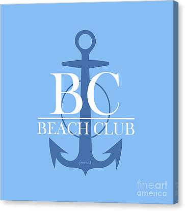 Beach Club 3 Canvas Print by Johannes Murat