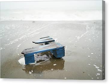 Beach Debris Canvas Print
