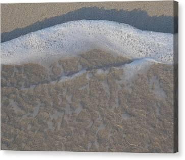Beach Foam Canvas Print