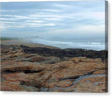 Canvas Print featuring the photograph Beach by Gene Cyr