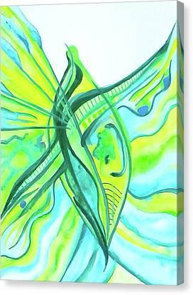 Beach Glass Dream Canvas Print by Erika Swartzkopf