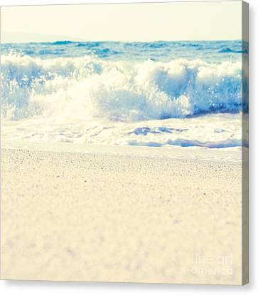 Canvas Print featuring the photograph Beach Gold by Sharon Mau