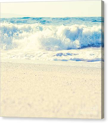 Canvas Print featuring the photograph Beach Gold by Sharon Mau