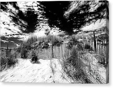 Beach Haven Canvas Print by John Rizzuto