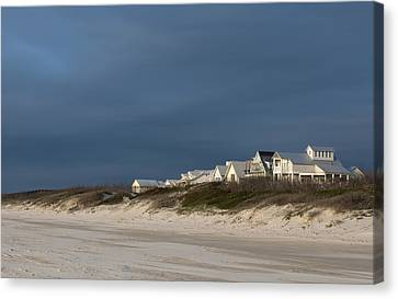 Beach Houses Canvas Print